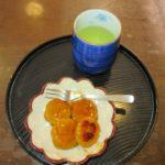 かぼちゃ饅頭を作りました【短期入所生活介護事業所】